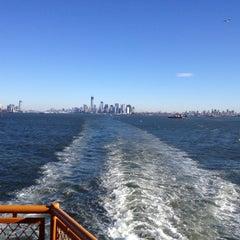 Photo taken at Staten Island Ferry Boat - Spirit Of America by Sam B. on 11/9/2012