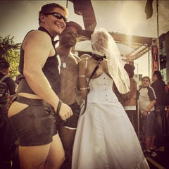 Photo taken at Folsom Street Fair 2012 by Gil R. on 9/25/2012