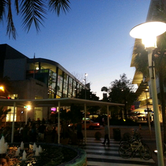 Photo taken at Lincoln Road Mall by Kevin T. on 5/5/2013