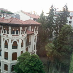 Photo taken at Hotel Yoldi by Pepe Z. on 6/3/2015