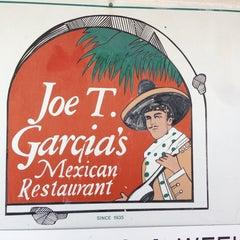 Photo taken at Joe T. Garcia's by Richard H. on 4/5/2013