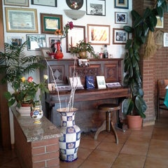 Photo taken at Trattoria Dei Panzerotti by Carlos D. on 3/14/2014