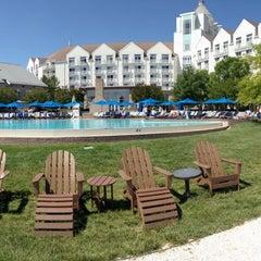 Photo taken at Pool @ Hyatt. by Justine H. on 6/7/2014