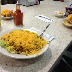 Photo taken at Skyline Chili by Tom B. on 3/6/2013