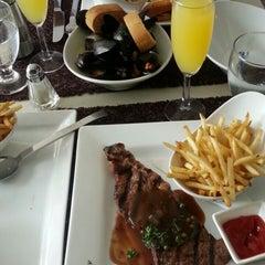 Photo taken at Angelique Euro Café by Sheldon W. on 8/17/2013
