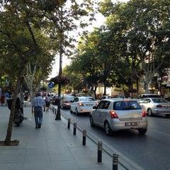 Photo taken at Bağdat Caddesi by Berkan B. on 7/20/2013