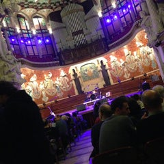 Foto tomada en Palau de la Música Catalana por Rafa O. el 1/31/2013
