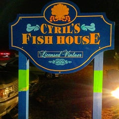 Photo taken at Cyril's Fish House by David S. on 9/8/2015