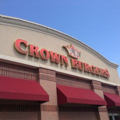 Photo taken at Crown Burger by Jeff F. on 8/31/2013