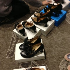 Photo taken at John Fluevog Shoes by Jim F. on 1/7/2013
