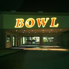 Photo taken at University Bowl by Michelle K. on 1/10/2013