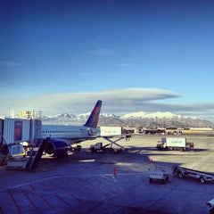 Photo taken at Salt Lake City International Airport (SLC) by Dan O. on 4/14/2013