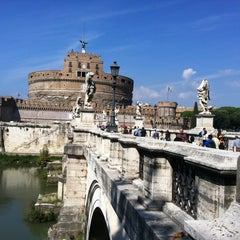 Photo taken at Ponte Sant'Angelo by Alexey Z. on 9/18/2012