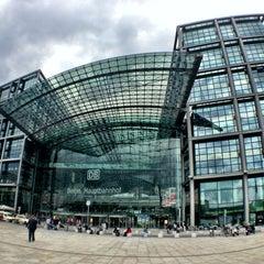 Photo taken at Berlin Hauptbahnhof by Jennifer Kjellgren ~. on 7/1/2013