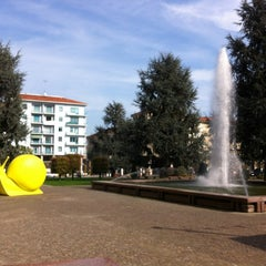 Photo taken at Piazza Europa by Andrea Jacopo C. on 10/25/2012