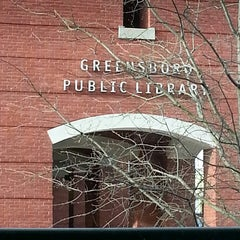Photo taken at Greensboro Public Library by Nicole S. on 4/3/2013
