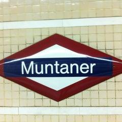 Photo taken at FGC Muntaner by Juan B. on 1/2/2013