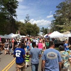 Photo taken at Flowertown Festival by Jonathan C. on 4/5/2014