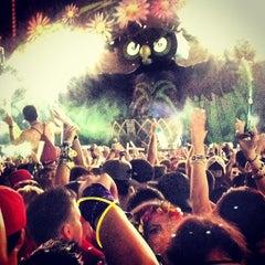 Photo taken at EDC Las Vegas by Omid H. on 7/12/2013