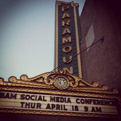 Photo taken at Paramount Arts Center by David H. on 4/18/2013