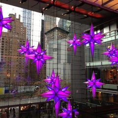 Photo taken at The Shops at Columbus Circle by Cat A. on 11/20/2012
