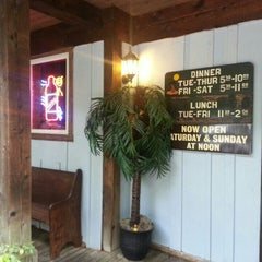 Photo taken at Rae's Coastal Cafe by Wyatt F. on 6/2/2013