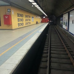 Photo taken at Bondi Junction Station by Daniel D. on 4/19/2013