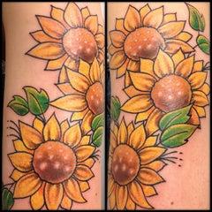 Photo taken at The Original Goodfellas Tattoo by Adam H. on 9/25/2012