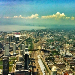 Photo taken at CN Tower by Fabio Z. on 7/21/2014