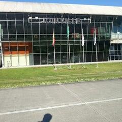 Photo taken at Aeroporto de Joinville / Lauro Carneiro de Loyola (JOI) by Leonardo d. on 6/5/2013