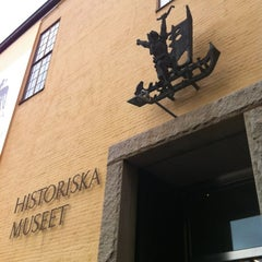 Photo taken at Historiska Museet by Nataly K. on 10/16/2012