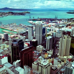 Photo taken at Sky Tower by Mikhail V. on 12/30/2012