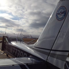 Photo taken at Wittman Regional Airport (OSH) by Rose D. on 12/8/2012