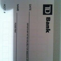 Photo taken at TD Bank by Michel Ryan L. on 11/19/2011