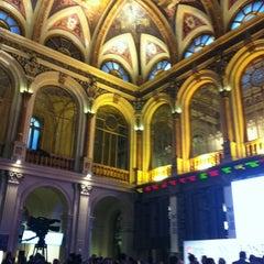 Photo taken at Bolsa de Madrid by Claudia E. on 5/17/2012