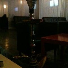 Photo taken at Mist Hookah Lounge by Frankee R. on 11/4/2011