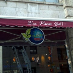 Photo taken at Blue Planet Grill by Linda M. on 12/9/2011