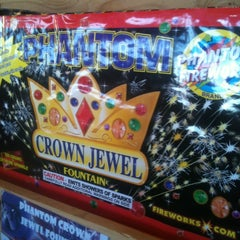 Photo taken at Bakersfield LGBTQ Fireworks Booth by Steven M. on 7/3/2012
