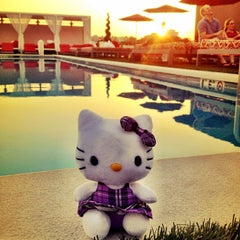 Photo taken at Penthouse Pool Club by Ted E. on 5/31/2012