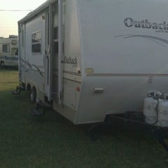Photo taken at Winfield Fairgrounds by Renee E. on 9/3/2011