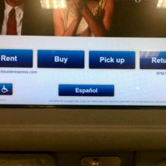 Photo taken at BLOCKBUSTER Express Kiosk by Claudia L. on 1/4/2012