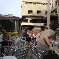 Photo taken at Cafeteria - Facultat de Dret UB by Xavier C. on 6/14/2012