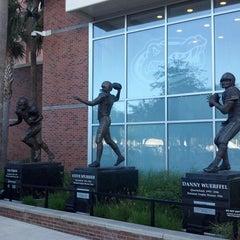 Photo taken at Ben Hill Griffin Stadium by Ken K. on 4/7/2012