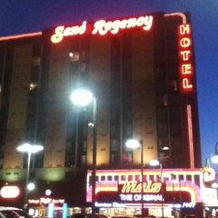 Photo taken at Sands Regency Casino & Hotel by Leslie P. on 4/9/2012