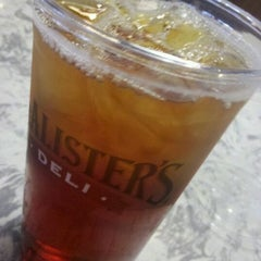 Photo taken at McAlister's Deli by Chris P. on 5/22/2012