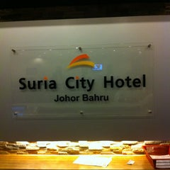 Photo taken at Suria City Hotel Johor Bahru by Mohammad Hasni I. on 6/21/2012