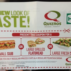 Photo taken at Quiznos by @LorenzoAgustin ☆ on 7/29/2012