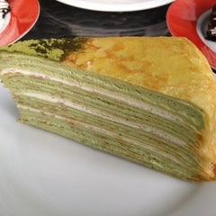 Photo taken at Nadeje Cafe by Katherine N. on 3/11/2012