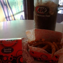 Photo taken at A&W by Hani H. on 1/29/2012