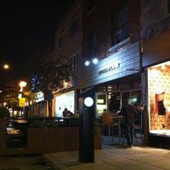 Photo taken at Restaurant Au Chaud Lapin by salamandreta on 9/3/2011